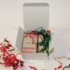 Guest Gift Soaps in white box on white
